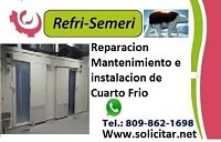 reparacion mantenimiento instalacion cuarto frio